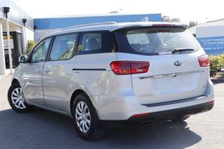 2019 Kia Carnival YP MY19 S Silky Silver 8 Speed Sports Automatic Wagon.