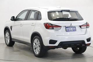 2020 Mitsubishi ASX XD MY21 ES 2WD White 1 Speed Constant Variable Wagon.