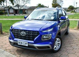 2021 Hyundai Venue QX.V3 MY21 Intense Blue 6 Speed Automatic Wagon.
