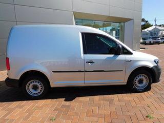 2017 Volkswagen Caddy 2KN MY18 TDI250 SWB DSG Silver 6 Speed Sports Automatic Dual Clutch Van.