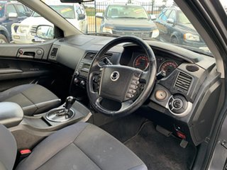 2012 Ssangyong Actyon Sports Q100 MY08 Grey 6 Speed Automatic Double Cab Utility