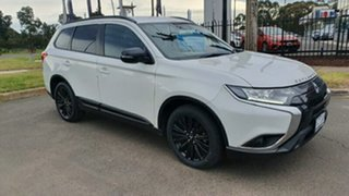 2019 Mitsubishi Outlander ZL MY19 Black Edition 2WD White 6 Speed Constant Variable Wagon.