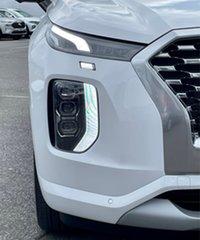2021 Hyundai Palisade LX2.V2 MY22 Highlander (7 Seat) White Cream 8 Speed Automatic Wagon.