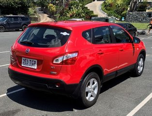 Nissan Dualis J10 MY13 ST Red Automatic Wagon
