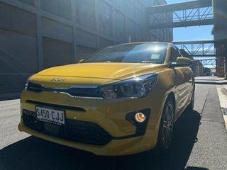 2021 Kia Rio YB MY22 Sport Mighty Yellow 6 Speed Automatic Hatchback.