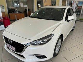 2017 Mazda 3 BN5478 Maxx SKYACTIV-Drive Snowflake White Pearl 6 Speed Sports Automatic Hatchback.