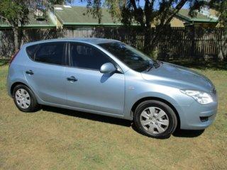 2009 Hyundai i30 FD MY09 SLX Blue 4 Speed Automatic Hatchback.