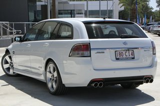 2009 Holden Commodore VE MY10 SS Sportwagon White 6 Speed Sports Automatic Wagon.