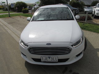 2015 Ford Falcon FG X G6E White 6 Speed Automatic Sedan.