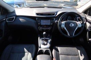 2016 Nissan Qashqai J11 TL Black 1 Speed Constant Variable Wagon