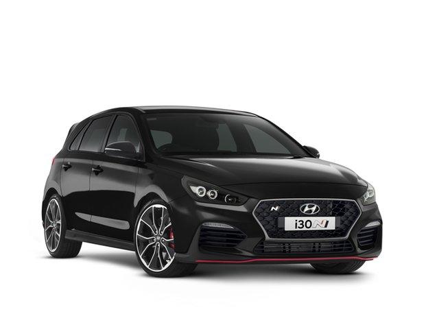 New Hyundai i30 Pde.v4 MY22 N D-CT Geelong, 2021 Hyundai i30 Pde.v4 MY22 N D-CT Phantom Black 8 Speed Automatic Hatchback