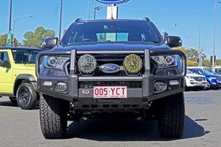 2018 Ford Ranger PX MkII 2018.00MY Wildtrak Double Cab Grey 6 Speed Sports Automatic Utility.