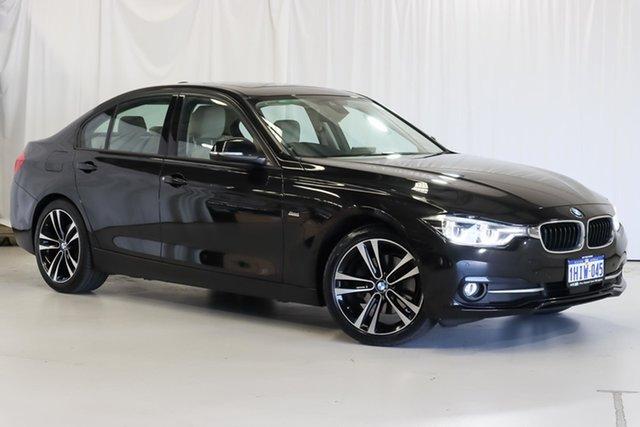 Used BMW 3 Series F30 LCI 320d Sport Line Wangara, 2018 BMW 3 Series F30 LCI 320d Sport Line Black 8 Speed Sports Automatic Sedan