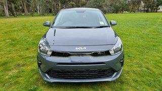 2021 Kia Rio YB MY22 SX Perennial Grey 6 Speed Automatic Hatchback.