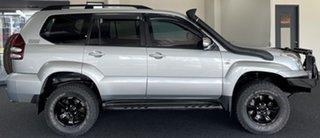 2007 Toyota Landcruiser Prado KDJ120R VX Silver 5 Speed Automatic Wagon.