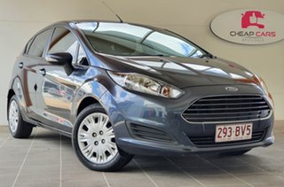 2013 Ford Fiesta WZ Ambiente PwrShift Grey 6 Speed Sports Automatic Dual Clutch Hatchback.