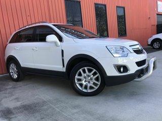 2013 Holden Captiva CG MY13 5 AWD LT White 6 Speed Sports Automatic Wagon.