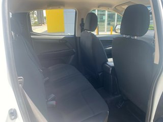 2015 Isuzu D-MAX MY15 SX Crew Cab 4x2 White/230516 5 Speed Manual Utility