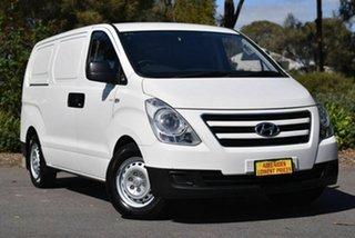 2017 Hyundai iLOAD TQ3-V Series II MY18 White 5 Speed Automatic Van.