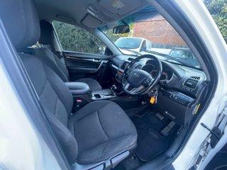2012 Kia Sorento XM MY12 SI White 6 Speed Sports Automatic Wagon.