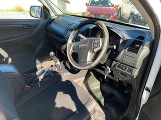 2012 Isuzu D-MAX TF MY10 SX (4x2) White 5 Speed Manual Cab Chassis