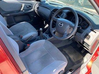 2000 Mazda 323 Protege Red 5 Speed Manual Sedan