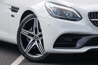 2020 Mercedes-Benz SLC-Class R172 800MY SLC200 9G-Tronic Polar White 9 Speed Sports Automatic