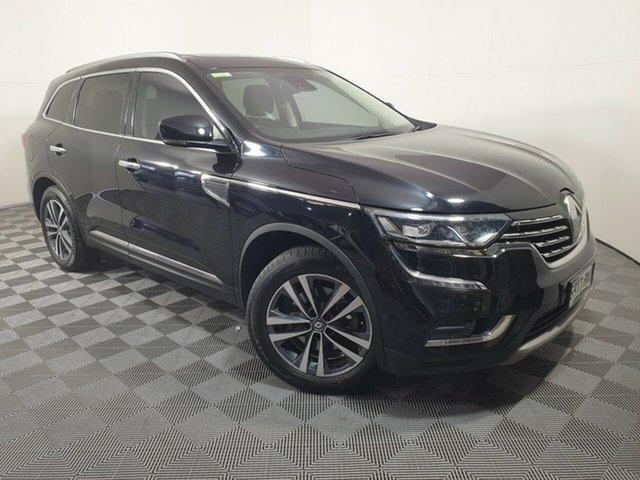 Used Renault Koleos HZG Intens X-tronic Wayville, 2018 Renault Koleos HZG Intens X-tronic Black 1 Speed Constant Variable Wagon