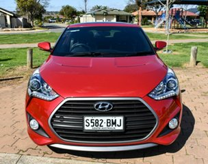 2016 Hyundai Veloster FS4 Series II SR Coupe D-CT Turbo Red 7 Speed Sports Automatic Dual Clutch