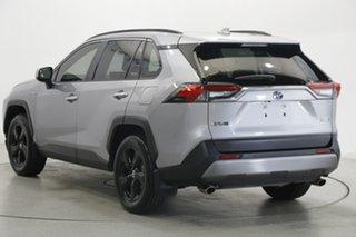 2019 Toyota RAV4 Axah54R Cruiser eFour Silver 6 Speed Constant Variable Wagon Hybrid.