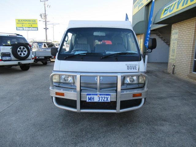 Used Mazda E2000 Mandurah, 2002 Mazda E2000 White 5 Speed Manual Van