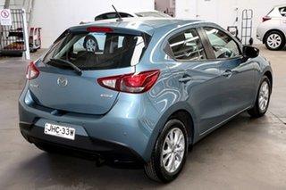 2016 Mazda 2 DJ2HAA Maxx SKYACTIV-Drive Blue 6 Speed Sports Automatic Hatchback
