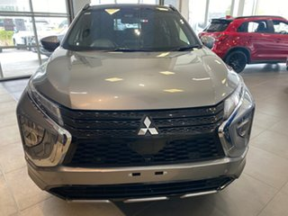 2020 Mitsubishi Eclipse Cross YB MY21 Exceed 2WD Grey 8 Speed Constant Variable Wagon.