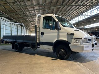 2007 Iveco Daily 45C15 White 5 Speed Automated Manual Cab Chassis.