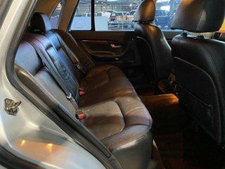 2004 Ford Fairlane BA Ghia Silver 4 Speed Sports Automatic Sedan