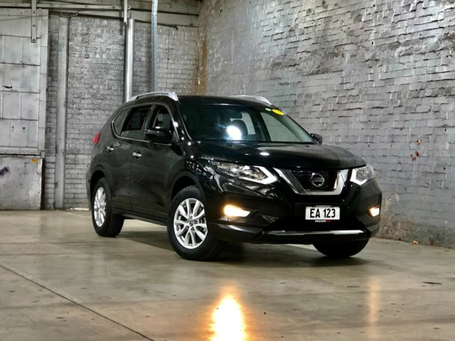 Used Nissan X-Trail T32 Series II ST-L X-tronic 2WD Mile End South, 2018 Nissan X-Trail T32 Series II ST-L X-tronic 2WD Black 7 Speed Constant Variable Wagon