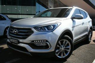 2016 Hyundai Santa Fe DM SER II (DM3) Update Elite CRDi (4x4) Silver 6 Speed Automatic Wagon.