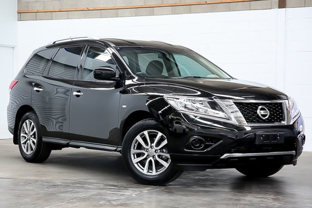 Used Nissan Pathfinder R52 MY16 ST X-tronic 2WD Erina, 2016 Nissan Pathfinder R52 MY16 ST X-tronic 2WD Black 1 Speed Constant Variable Wagon