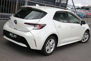 2020 Toyota Corolla ZWE211R Ascent Sport E-CVT Hybrid Pearl White 10 Speed Constant Variable Sedan.