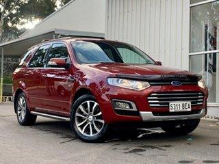 2015 Ford Territory SZ MkII Titanium Seq Sport Shift AWD Red 6 Speed Sports Automatic Wagon.