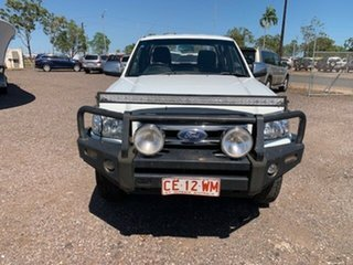 2008 Ford Ranger XLT White 5 Speed Manual Double Cab.