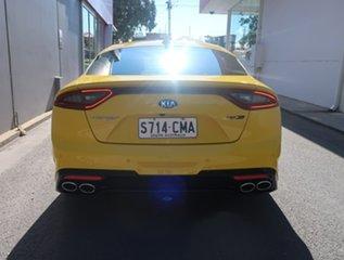 2017 Kia Stinger CK MY18 GT-Line Fastback Yellow 8 Speed Sports Automatic Sedan