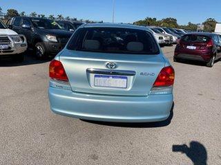 2003 Toyota Echo NCP12R Green 4 Speed Automatic Sedan
