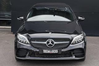 2021 Mercedes-Benz C-Class W205 801MY C200 9G-Tronic Obsidian Black 9 Speed Sports Automatic Sedan