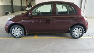 2010 Nissan Micra K12 Shanghai Violet 4 Speed Automatic Hatchback.