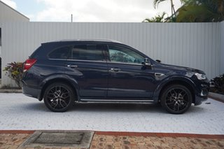 2017 Holden Captiva CG MY17 LTZ AWD Blue 6 Speed Sports Automatic Wagon.