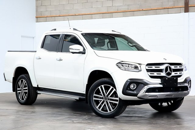 Used Mercedes-Benz X-Class 470 X250d 4MATIC Power Erina, 2017 Mercedes-Benz X-Class 470 X250d 4MATIC Power White 6 Speed Manual Utility