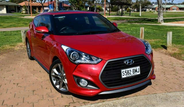Used Hyundai Veloster FS4 Series II SR Coupe D-CT Turbo Ingle Farm, 2016 Hyundai Veloster FS4 Series II SR Coupe D-CT Turbo Red 7 Speed Sports Automatic Dual Clutch