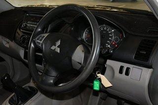 2015 Mitsubishi Triton MN MY15 GL 4x2 White 5 Speed Manual Cab Chassis