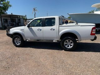 2008 Ford Ranger XLT White 5 Speed Manual Double Cab